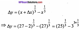 MP Board Class 12th Maths Important Questions Chapter 6 Application of Derivatives img 29