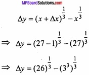 MP Board Class 12th Maths Important Questions Chapter 6 Application of Derivatives img 35