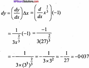 MP Board Class 12th Maths Important Questions Chapter 6 Application of Derivatives img 36