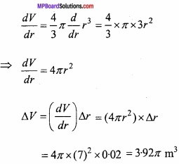 MP Board Class 12th Maths Important Questions Chapter 6 Application of Derivatives img 38