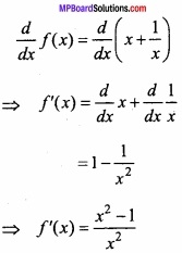 MP Board Class 12th Maths Important Questions Chapter 6 Application of Derivatives img 9