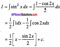 MP Board Class 12th Maths Important Questions Chapter 7A Integration img 10 - Copy