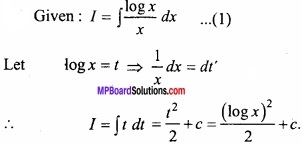 MP Board Class 12th Maths Important Questions Chapter 7A Integration img 16 - Copy