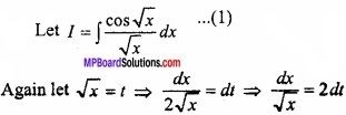 MP Board Class 12th Maths Important Questions Chapter 7A Integration img 20