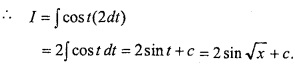 MP Board Class 12th Maths Important Questions Chapter 7A Integration img 20a
