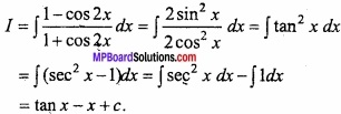 MP Board Class 12th Maths Important Questions Chapter 7A Integration img 21 - Copy