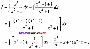 MP Board Class 12th Maths Important Questions Chapter 7A Integration img 22
