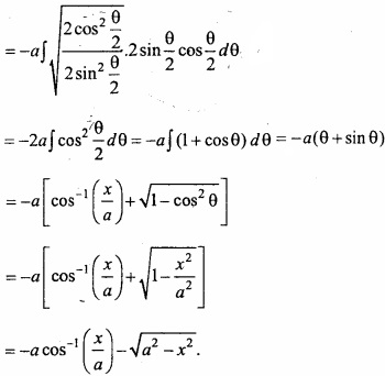 MP Board Class 12th Maths Important Questions Chapter 7A Integration img 24a