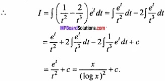 MP Board Class 12th Maths Important Questions Chapter 7A Integration img 25