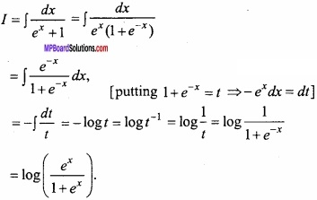 MP Board Class 12th Maths Important Questions Chapter 7A Integration img 31