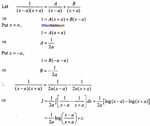 MP Board Class 12th Maths Important Questions Chapter 7A Integration img 34