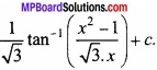 MP Board Class 12th Maths Important Questions Chapter 7A Integration img 36