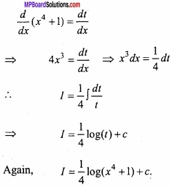 MP Board Class 12th Maths Important Questions Chapter 7A Integration img 45