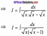 MP Board Class 12th Maths Important Questions Chapter 7A Integration img 46