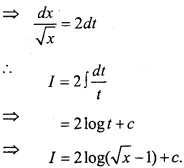 MP Board Class 12th Maths Important Questions Chapter 7A Integration img 47a