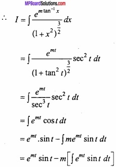 MP Board Class 12th Maths Important Questions Chapter 7A Integration img 50