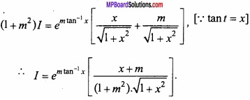 MP Board Class 12th Maths Important Questions Chapter 7A Integration img 51