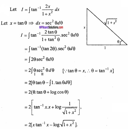 MP Board Class 12th Maths Important Questions Chapter 7A Integration img 53