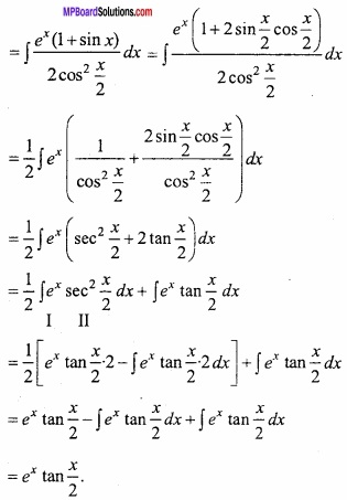MP Board Class 12th Maths Important Questions Chapter 7A Integration img 59