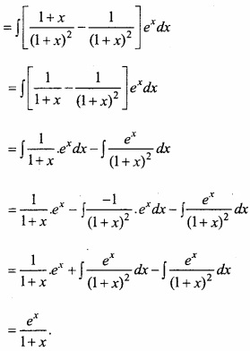 MP Board Class 12th Maths Important Questions Chapter 7A Integration img 60