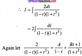 MP Board Class 12th Maths Important Questions Chapter 7A Integration img 61