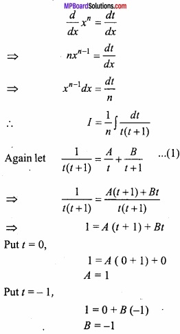 MP Board Class 12th Maths Important Questions Chapter 7A Integration img 65