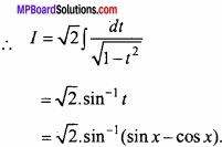 MP Board Class 12th Maths Important Questions Chapter 7A Integration img 67