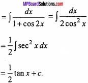 MP Board Class 12th Maths Important Questions Chapter 7A Integration img 8 - Copy