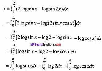 MP Board Class 12th Maths Important Questions Chapter 7B निशिचत समाकलन img 38