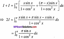 MP Board Class 12th Maths Important Questions Chapter 7B निशिचत समाकलन img 41