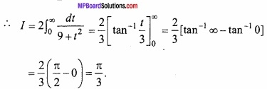 MP Board Class 12th Maths Important Questions Chapter 7B Definite Integral img 23