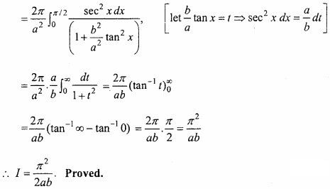MP Board Class 12th Maths Important Questions Chapter 7B Definite Integral img 26a