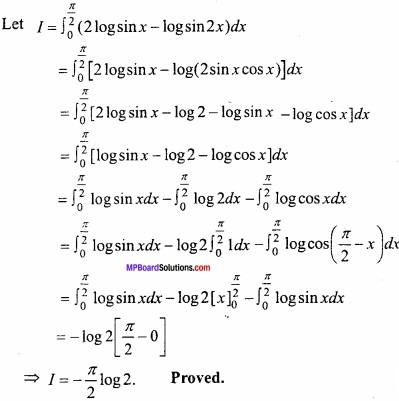 MP Board Class 12th Maths Important Questions Chapter 7B Definite Integral img 31
