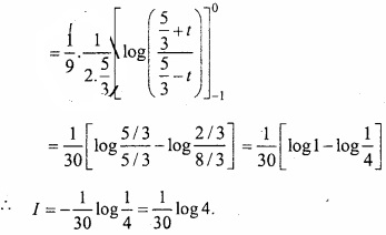 MP Board Class 12th Maths Important Questions Chapter 7B Definite Integral img 36a