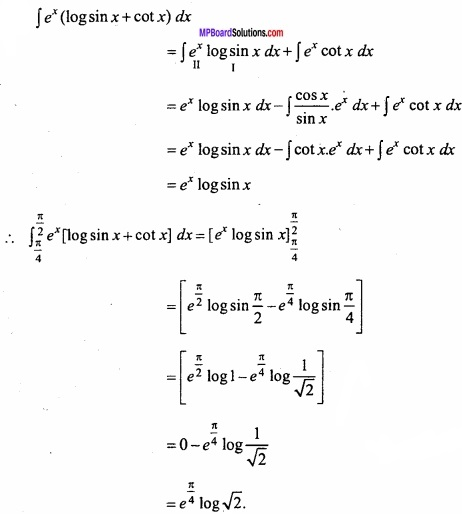 MP Board Class 12th Maths Important Questions Chapter 7B Definite Integral img 5