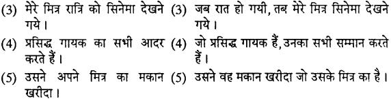MP Board Class 12th Special Hindi वाक्य-परिवर्तन img-2
