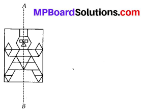 MP Board Class 6th Maths Solutions Chapter 13 Symmetry Ex 13.2 6