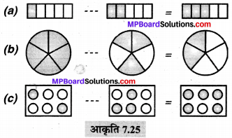 MP Board Class 6th Maths Solutions Chapter 7 भिन्न Ex 7.5 image 1