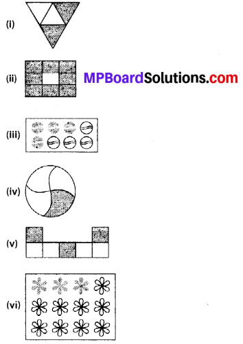 MP Board Class 6th Maths Solutions Chapter 7 Fractions Ex 7.1 1