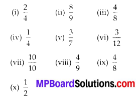 MP Board Class 6th Maths Solutions Chapter 7 Fractions Ex 7.1 3