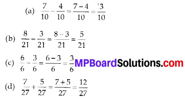 MP Board Class 6th Maths Solutions Chapter 7 Fractions Ex 7.5 7