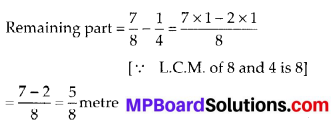 MP Board Class 6th Maths Solutions Chapter 7 Fractions Ex 7.6 11