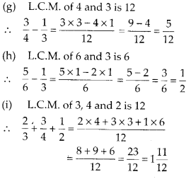 MP Board Class 6th Maths Solutions Chapter 7 Fractions Ex 7.6 3