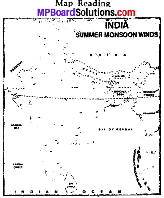 MP Board Class 6th Social Science Solutions Chapter 17 The Climate of India img 1