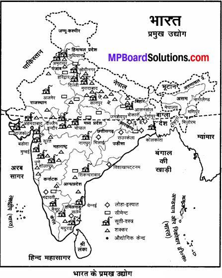 MP Board Class 6th Social Science Solutions Chapter 26 भारत के खनिज, शक्ति के साधन और उद्योग img 6