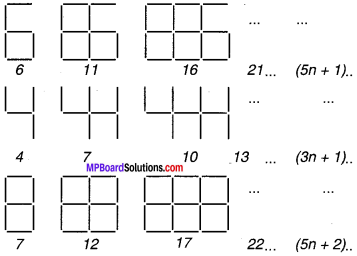 MP Board Class 7th Maths Solutions Chapter 12 बीजीय व्यंजक Ex 12.4 image 1
