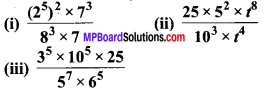 MP Board Class 7th Maths Solutions Chapter 13 घातांक और घात Ex 13.2 image 8