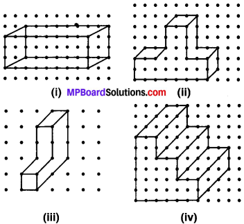 MP Board Class 7th Maths Solutions Chapter 15 ठोस आकारों का चित्रण Ex 15.2 image 1