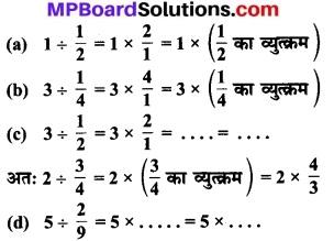 MP Board Class 7th Maths Solutions Chapter 2 भिन्न एवं दशमलव Ex 2.3 10a