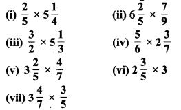 MP Board Class 7th Maths Solutions Chapter 2 भिन्न एवं दशमलव Ex 2.3 3